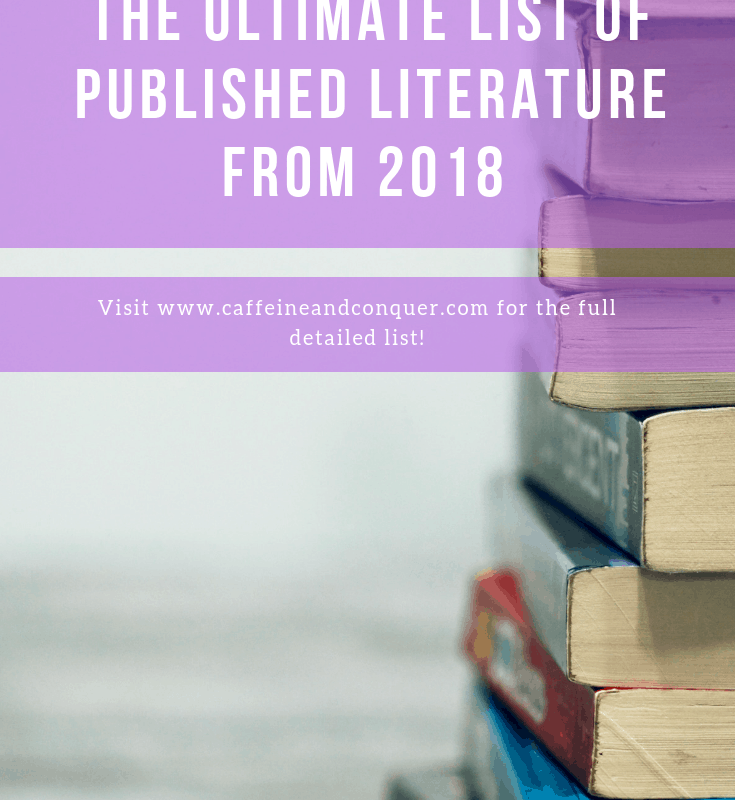 20 Anticipated Books You Should Read in 2018 2
