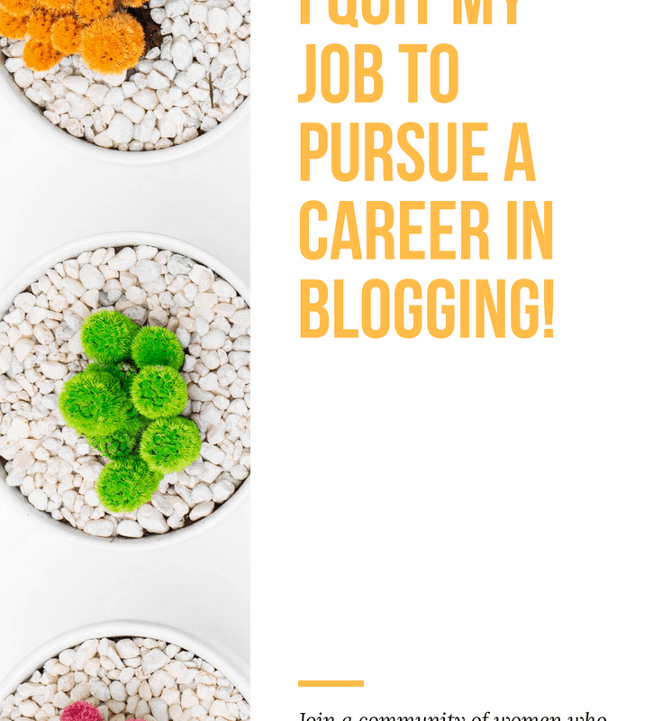 Find out why I quit my job to blog 1