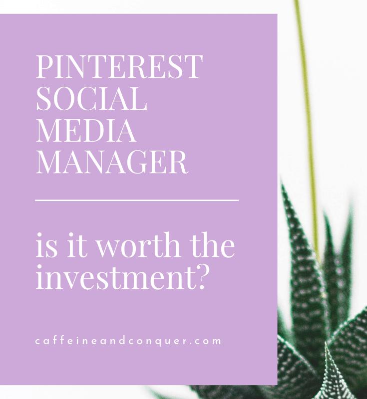 Pinterest Social Media Manager Thats Me pin