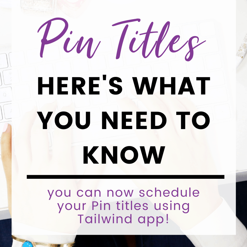"""A pinnable image: """"Pin Titles Here's What You Need To Know"""""""